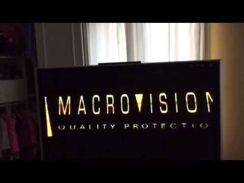 macrovision logo in reverse slowed doovi