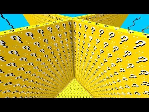 НОВЫЕ БЕЗУМНЫЕ ЛАКИ БЛОКИ В МАЙНКРАФТ ЛАКИ СКАЙБЛОК С ЛАКИ БЛОКАМИ LUCKY BLOCK Minecraft Mini-Game