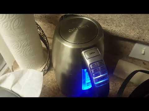 Cuisinart CPK 17 PerfecTemp is by far the best programmable kettle