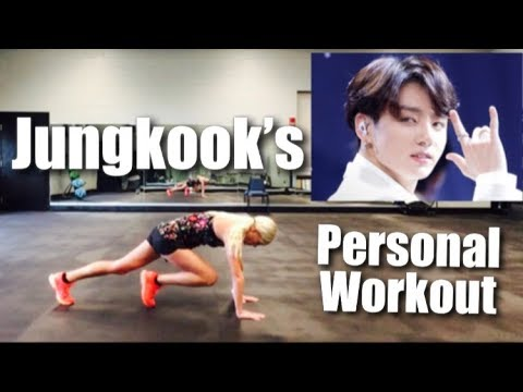 Jungkook S Personal Workout Youtube