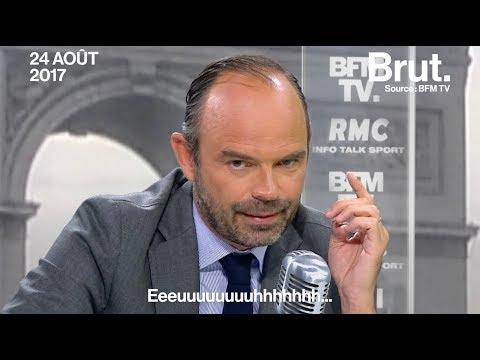Edouard Philippe pas du tout préparé pour son interview de rentrée