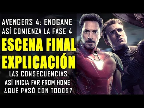 ¿QUÉ DEMONIÓS PASÓ? La escena final y post créditos de Avengers Endgame EXPLICADO PARTE 1 |ANÁLISIS