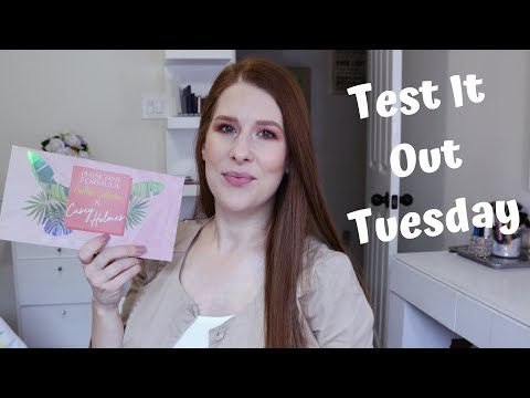 TEST IT OUT TUESDAY | PHYSICIANS FORMULA X CASEY HOLMES BUTTER COLLECTION thumbnail