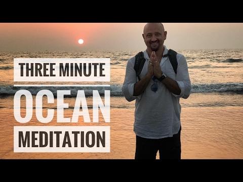 Three Minute Ocean Meditation