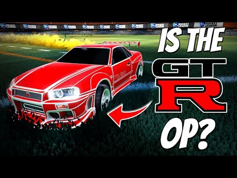 IS THE NEW SKYLINE GTR OP!? | Rocket League DLC Update (Competitive 3v3)