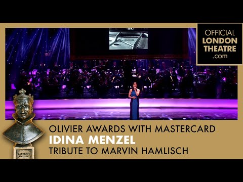 Olivier Awards 2013 with MasterCard - Marvin Hamlisch Tribute performed by Idina Menzel