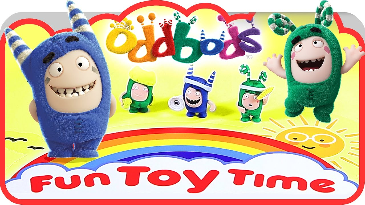 Fun Time Toys : Oddbods cartoon surprise blind bags zee and pogo fun