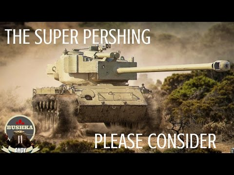 The Other Other Option   The Super Pershing World of Tanks Blitz