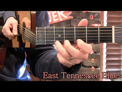 East Tennessee Blues Flatpicking Guitar Lesson!