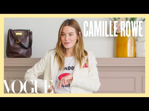 Camille Rowe's Week of French Girl Style | 7 Days, 7 Looks | Vogue