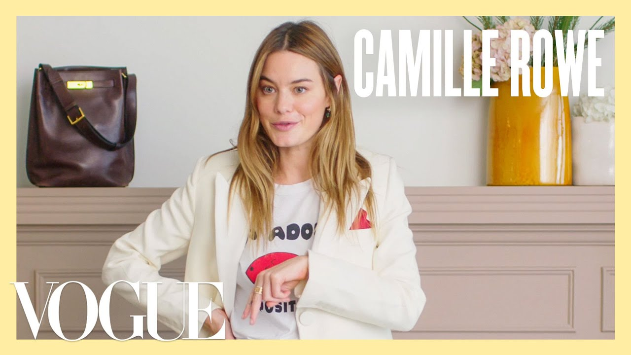 Every Outfit Camille Rowe Wears in a Week | 7 Days, 7 Looks
