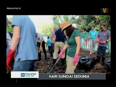 Part 1: TV3's Malaysia Hari Ini on the topic of river conservation and protection