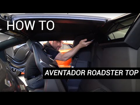 HOW TO | REMOVE/INSTALL AVENTADOR ROADSTER TOP