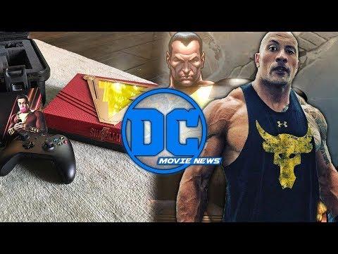 DC Movie News: Black Adam Gets Release Date! Joker Movie Details, & #SaveSwampThing!