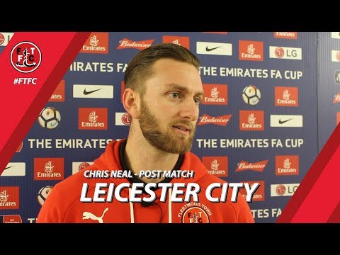 Chris Neal after Leicester City draw | Post Match