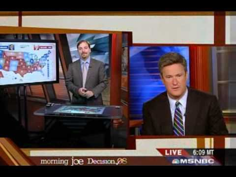 Morning joe: And the Winner is... OBAMAAAAAAAA! Chuck Todd and his map says it all 102108
