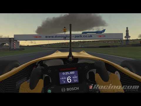 iRacing F3 Lap at Donington Park GP
