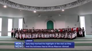200 American youth travel to meet Khalifa