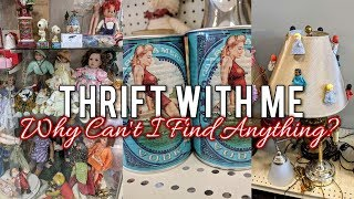 Thrift with Me-Collective Goodwill & Thrift Store Browsing!