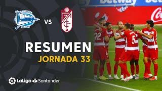 Resumen de Deportivo Alavés vs Granada CF (0-2)