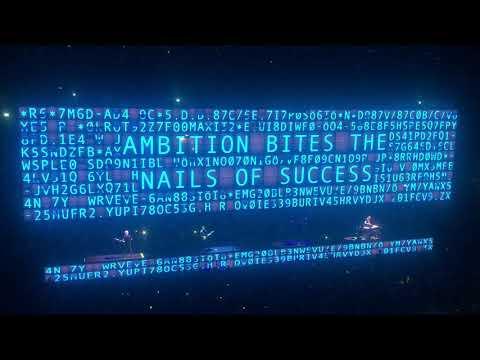 U2 - The fly - Milano 16 Ottobre 2018