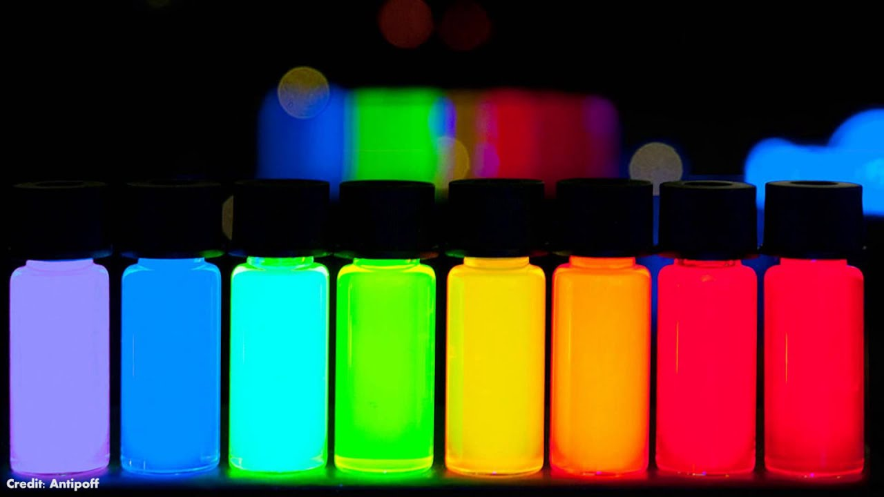 What Are Quantum Dots Youtube