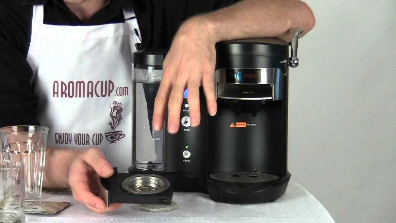 Review Blu Tigres Single Serve Coffee Pod Brewer Better Then Senseo