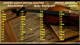 Hallelujah chords and lyrics guitar lesson