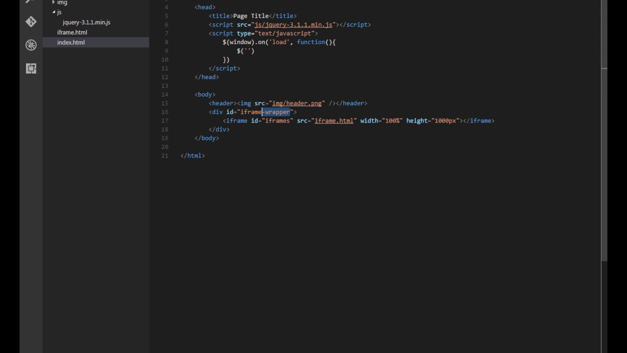 jQuery - Bind an event to iframe element | CodeExpertz