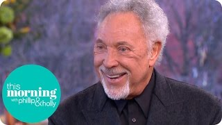 Sir Tom Jones Feels His Late Wife Would Be Delighted He