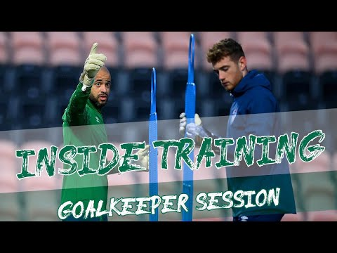 INSIDE TRAINING   How international goalkeepers prepare for matches