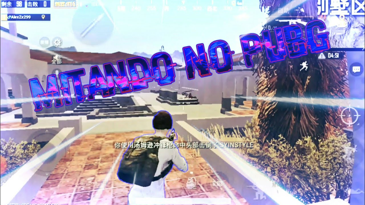 Mitando No PUBG Mobile LightSpeed - Gameplay Android