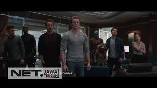 AKHIRNYA ! Avengers: Endgame Tayang di Bioskop ! - NET JATENG