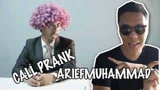 HOMPIMPRANK : PRANK ARIEF MUHAMMAD!!! WAH NGACO DAH!!