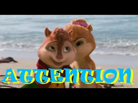 Alvin And The Chipmunks With The Song -Attention-