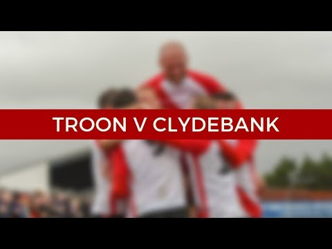 Troon v Clydebank 3/11/18