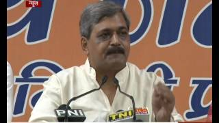Delhi BJP Chief holds Press Conference over the AAP leader controversy