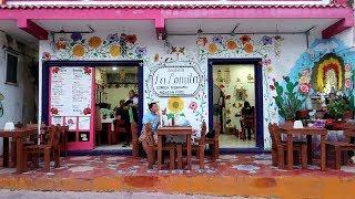 メキシコ旅行⑧ イスラムヘーレス島の最終日、夕食を食べに行きました。 #169