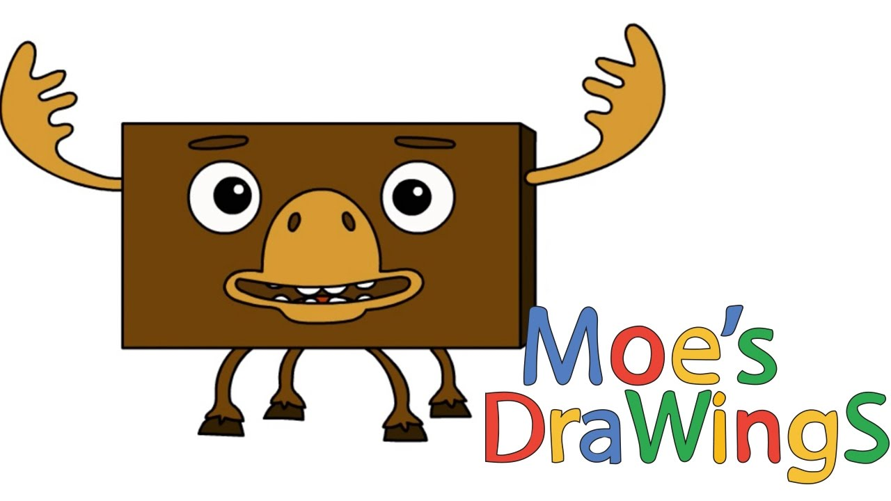 Big block sing song moose how to draw and coloring fun new hd big block sing song moose how to draw and coloring fun new hd video for kids thecheapjerseys Images