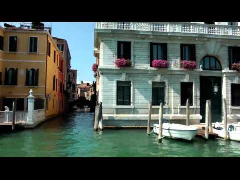 Cruising Venice Grand Canal - Italy 2012