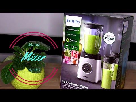 Philips HR3655 | Unboxing | ProBlend 6 | deutsch