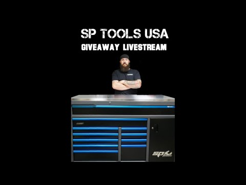 SP Tools USA Livestream Giveaway Winner