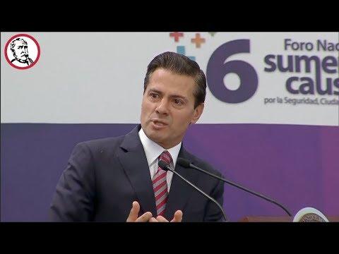 """Peña Nieto enfurece ante críticas; culpa a la sociedad de hacerle """"bullying"""""""