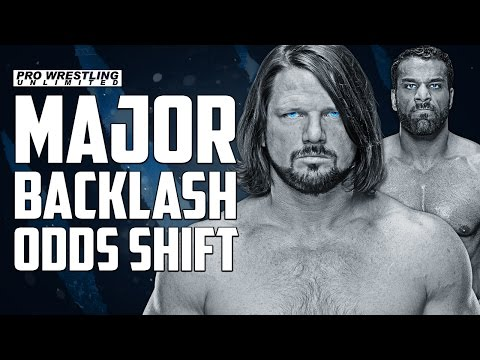 Major Surprise Shift In Betting Odds For Sunday's WWE Backlash Event
