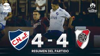 Resumen de Nacional vs River Plate (4-4) | Copa desafío Campeones de América