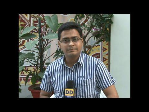 DD News  Aditya Shrivastava interview with Manak Agarwal Resigne MP Congress