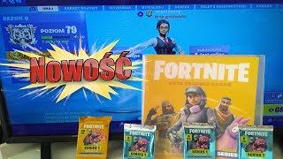 NOWOŚĆ!!! FORTNITE ALBUM + VALUE PACK + SASZETKI - PANINI - UNBOXING SERIA 1