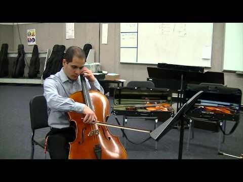 2015 - Cello - Fantasia For Strings - SAUSD Intermediate Honor Orchestra