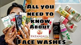 All you need to know about 8 Patanjali Face washes |  Ishita Chanda