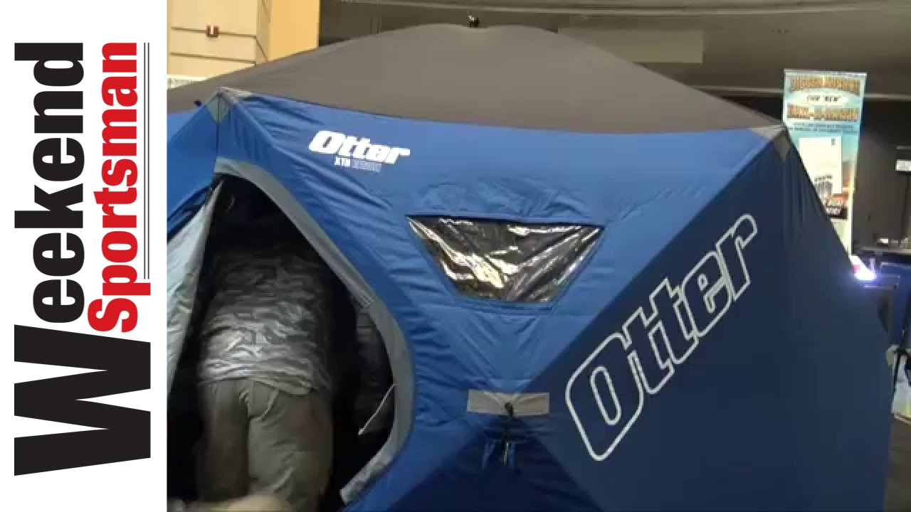 Otter XTH Resort Ice fishing Hub Shelter   Weekend Sportsman    #OtterOutdoors1